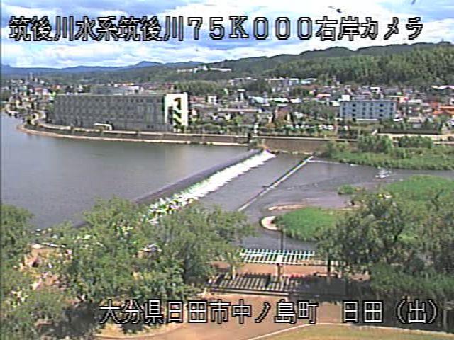 筑後川右岸75K日田出張所_屋上カメラ