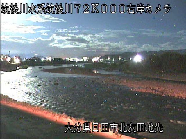 筑後川右岸72K北友田地先