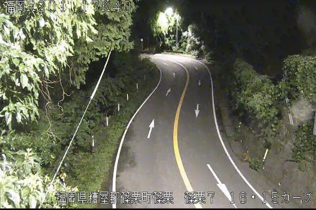 福岡 国道201号 八木山峠[糟屋郡篠栗町 篠栗7]ライブカメラ