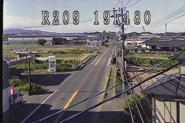 福岡 国道209号[大牟田市荒木町 永代橋]ライブカメラ
