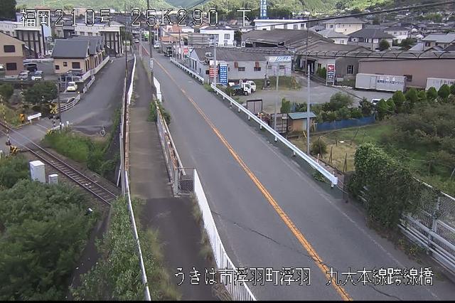 福岡 国道210号[うきは市浮羽町 浮羽]ライブカメラ