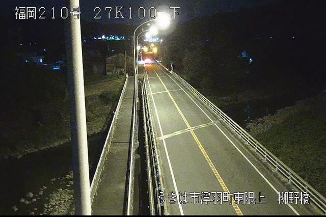福岡 国道210号[うきは市浮羽町 東隈上]ライブカメラ