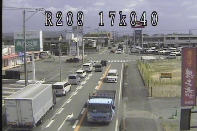 福岡 国道209号[筑後市 熊野]ライブカメラ