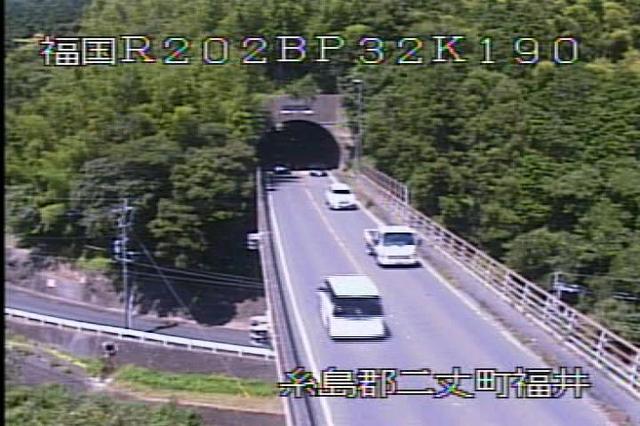 国道202号バイパス[福岡 糸島 二丈町福井3]ライブカメラ
