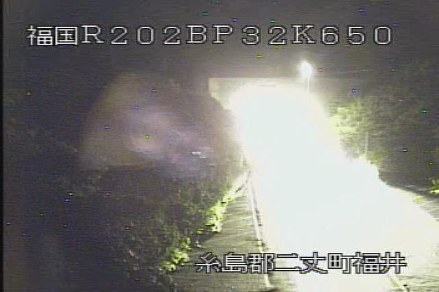 国道202号バイパス[福岡 糸島 二丈町福井4]ライブカメラ