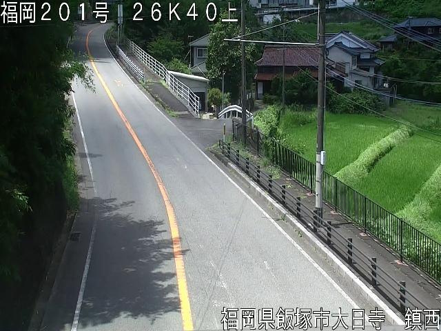 国道201号 八木山峠[飯塚市鎮西]ライブカメラ