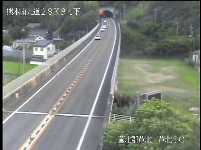 芦北IC[E3A 南九州自動車道]ライブカメラ