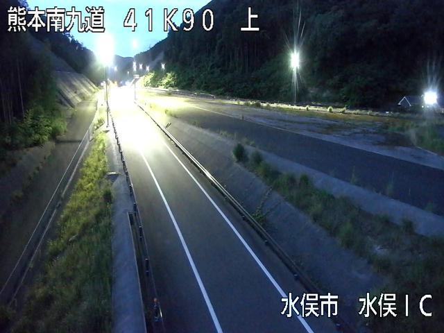 水俣IC[E3A 南九州自動車道]ライブカメラ