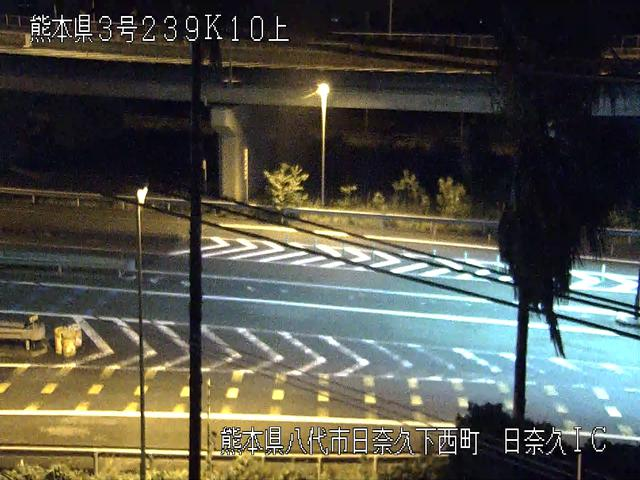 日奈久IC[E3A 南九州自動車道]ライブカメラ