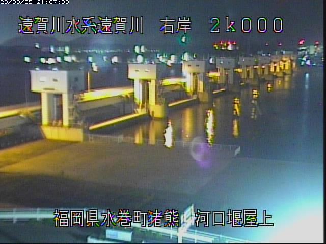 遠賀川河口堰カメラ